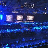 Burgenlandhalle Showbeginn