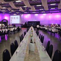 Ballsaal Sitzplatzdekoration